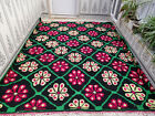 Handmade Moroccan Rug Azilal Wool Berber Rug Beni Ourain Tribal Carpet