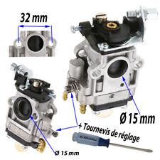 Carburateur Timbertech MS43 49 52 2TL Profi Tarus Silex Gartech Fuxtec 40a52 cc