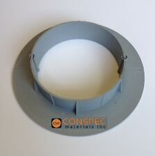 """Chemlink Solar Roof E-Curb 6"""" Round Curb EPDM Pipe Vent Flashing Roofing HVAC"""