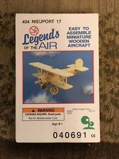 Legends Of The Air 'Nieuport 17' Wooden Aircraft Model Airplane #404 NEW