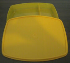 Tupperware brotzeitbox gamelle frühstücksdose Box boîte boîte orange NEUF