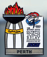 SYDNEY 2000 OLYMPIC GAMES AUSTRALIA -TORCH RELAY TOWN PERTH - COLLECTIBLE