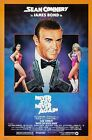 Never Say Encore 27X40 James Bond Sean Connery Original Film Affiche Rouleau