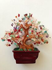 Mix Gem Stone Money Tree-amethyst Rose Quartz Citrine Carnelian Clear Quartz, Ne