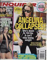 National Enquirer Magazine Angelina Jolie Mariah Carey Shania Twain Billy Joel