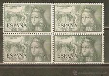 ESPAÑA AÑO 1951 EDIFIL 1097 BLOQUE DE 4 ** MNH - NACIMIENTO ISABEL LA CATOLICA