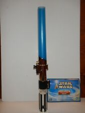 Star Wars Anakin Skywalker Interactive Jedi Training Lightsaber 2002 Hasbro