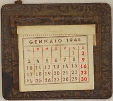 CALENDARIO DA TAVOLO TABLE CALENDAR AGENDA 1944 1926 PELLE LIBERTY DATE