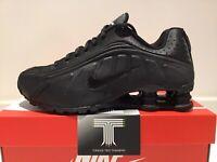 Nike Herren Shox r4 UK 10 US 11 EUR 45 Schwarz (104265 044) 100% Original