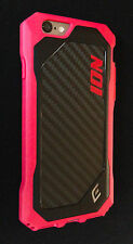 Element Case ION for iPhone 6 / 6s w/ Carbon Fiber NEW Fuchsia Pink MSRP $49.95