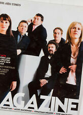 John Simm Matthew MacFadyen David Morrissey Lemmy Billie Piper TIMES MAGAZINE UK