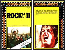 SILVESTER STALLONE  ROCKY II # ROMAN-PHOTO COULEURS DU FILM # 1979 FILM SUCCES 4