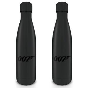 James Bond - 007 Logo - Stainless Steel Vacuum Water Bottle - MDB25402
