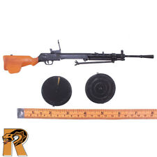 Red Army Weapons - DP Light Machine Gun w/ Drums #1 -1/6 Scale Toys City Figure