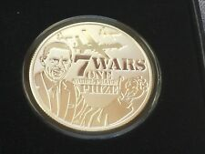 2016 SEVEN WARS OF OBAMA 1OZ PROOF #2 OF THE SERIES SILVER SHIELD - *IN-HAND*