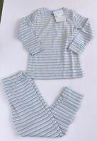 NWT Kissy Kissy Qt Qt Pajamas STRIPES 2 piece 18-24, 2, or 6 PIMA COTTON
