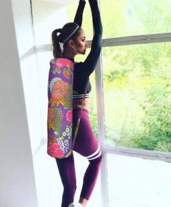 Indien Bohème Exercice Gym Sport Coton Unisexe Traverser Corps Bobo Set Yoga Sac