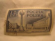Poland Stamp 1953 Scott 596 A233 Blue 175 Zt