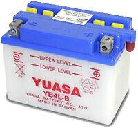 Batterie Moto Aprilia 250 RS250 Yuasa YB4L-B  12v 4Ah