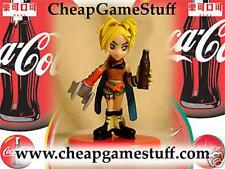Final Fantasy X Coca Cola Action Figure Game Toy  ~ RIKKU 14 Painted Chibi New!