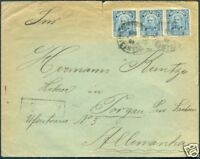BRAZIL TO GERMANY Cover 1909 VF