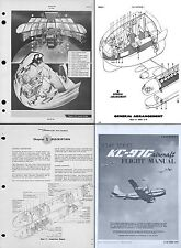 C-97 Stratofreighter manuals 1940's 50's Vintage Aircraft KC-97 YC-97