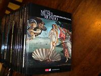 LIBRO: •I GRANDI MUSEI DEL MONDO L'Espresso collana COMPLETA 24 volumi Illustra