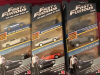Hot Wheels Fast and The Furious  Nine Die Cast Cars