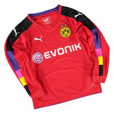 Maillots de football de clubs allemands rouges longueur manches manches longues