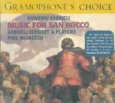 Gabrieli: Music for San Rocco (1608) /Gabrieli Consort & Players · McCreesh, , V