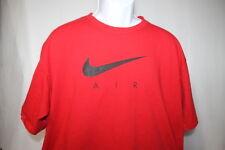 Nike Air Red Short Sleeve Shirt Mens XLarge XL