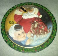 "Coca-Cola Heritage Collection ""Travel Refreshed"" Christmas Plate 1995"