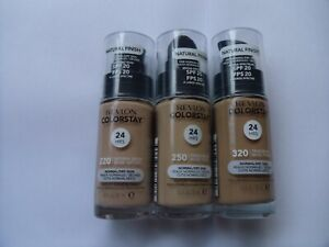 NEW! Revlon Colorstay 24H Foundation Normal/Dry NATURAL FINISH 30ml - Shade: