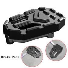 Motorcycle Brake Pedal Black Aluminum Alloy Widening Non-slip Bike Accessories