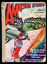 AMAZING STORIES (June 1931) The Magazine of Scientifiction Science Fiction