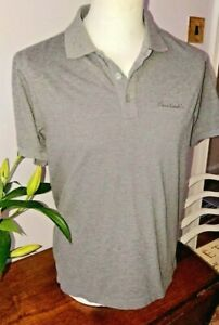 Pierre Cardin Men's Grey Small Short Sleeved Collared Polo T-Shirt Top