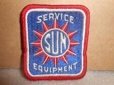 Vintage Sun Equipment Service Uniform Jacket Patch
