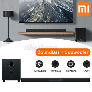 100W Sound Bar + Subwoofer Home Theater TV Speaker 2.1 Channel 5 Sound Units