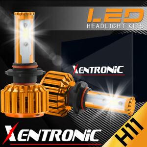 H11 9005 2PCS LED Total 488W 48800LM Light Combo Headlight High 6000K White Kit