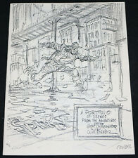 The Spirit by Will Eisner Portfolio - 1977 # AP/1500 Signed by the Editor