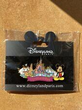 Large Disneyland Paris DLRP Castle Pin-Big Thunder Mountain Space Mountain