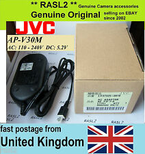 Genuine Original JVC AC POWER Adapter AP-V30 m U E GZ MG 750 HD MS215 HM 620 550