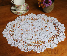 Cotton Oval Table Decorations