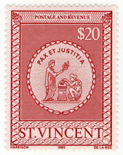 (I.B) St Vincent Revenue : Stamp Duty $20