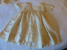 ANTIQUE SILK BABY'S DRESS -  FRENCH