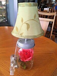 Lamp - canning jar handmade New