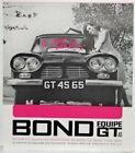 1965 Bond Equipe GT 4S Sales Folder Ad - UK