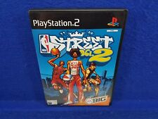 ps2 NBA STREET VOL 2 Volume 2 Basketball Street Game Playstation PAL UK Version