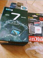 GoPro Hero 7 Black - 4K ULTRA HD ACTION CAMERA CAMCORDER NEW Live stream