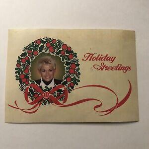 Lorrie Morgan Fan Club Postcard Holiday Greetings 6 x 4.25 Inches Vintage 1996